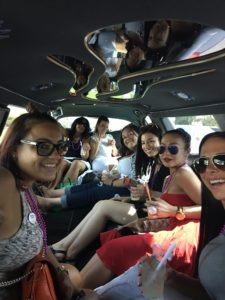 bachelorette party limo