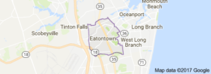 eatontown airport limo service map