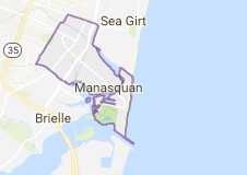 manasquan airport limo service map
