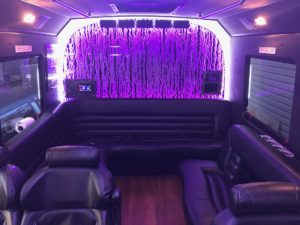 jersey shore prom limo bus int