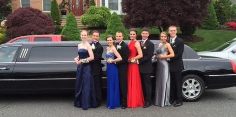 8-10 Passenger Black Limousines