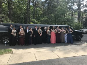 jersey shore prom limo stretch excursion