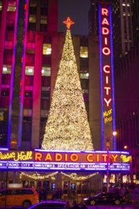 christmas in NY Radio City
