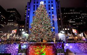 christmas in ny tree