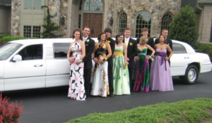 white nj prom limo