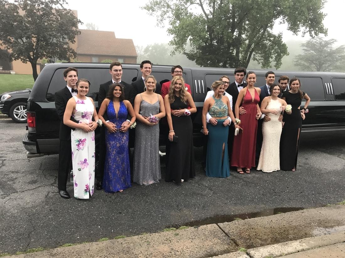 16-18 Passenger Stretch SUV