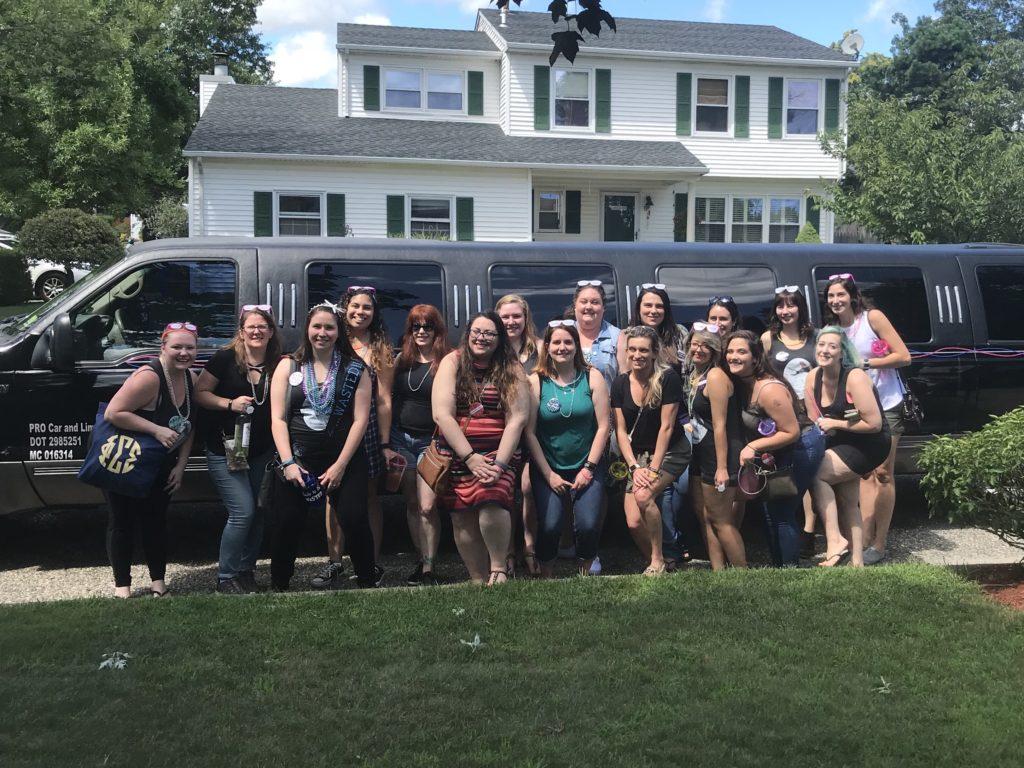 18 passenger SUV toms river party bus rental