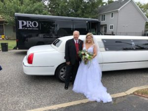 wedding white limo pro car and limo