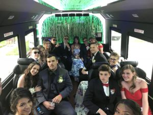 preferred limousine company in brick nj bus interior
