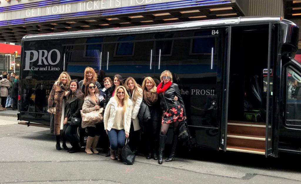 18 passenger toms river party bus rental