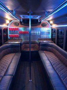 our fleet 14 passenger bus interior 1