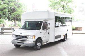 our fleet 14 passenger party bus ext
