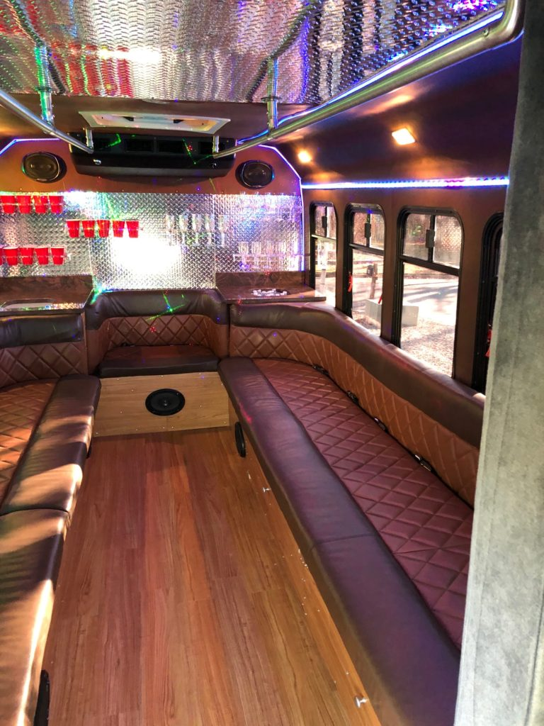 14 passenger prom party interior