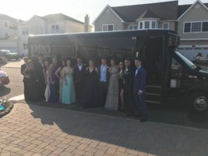 2019 prom limo party bus