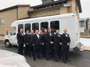 14 passenger prom party bus