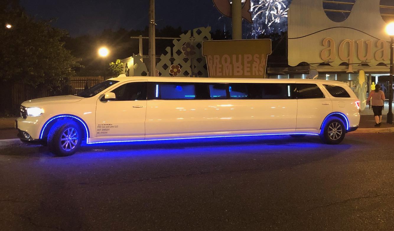 14 Passenger Stretch SUV