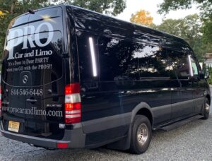 specials black sprinter limo
