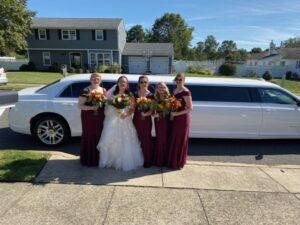 ocean county wedding limousine